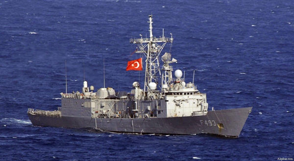 Turkish warship [Alqabas]