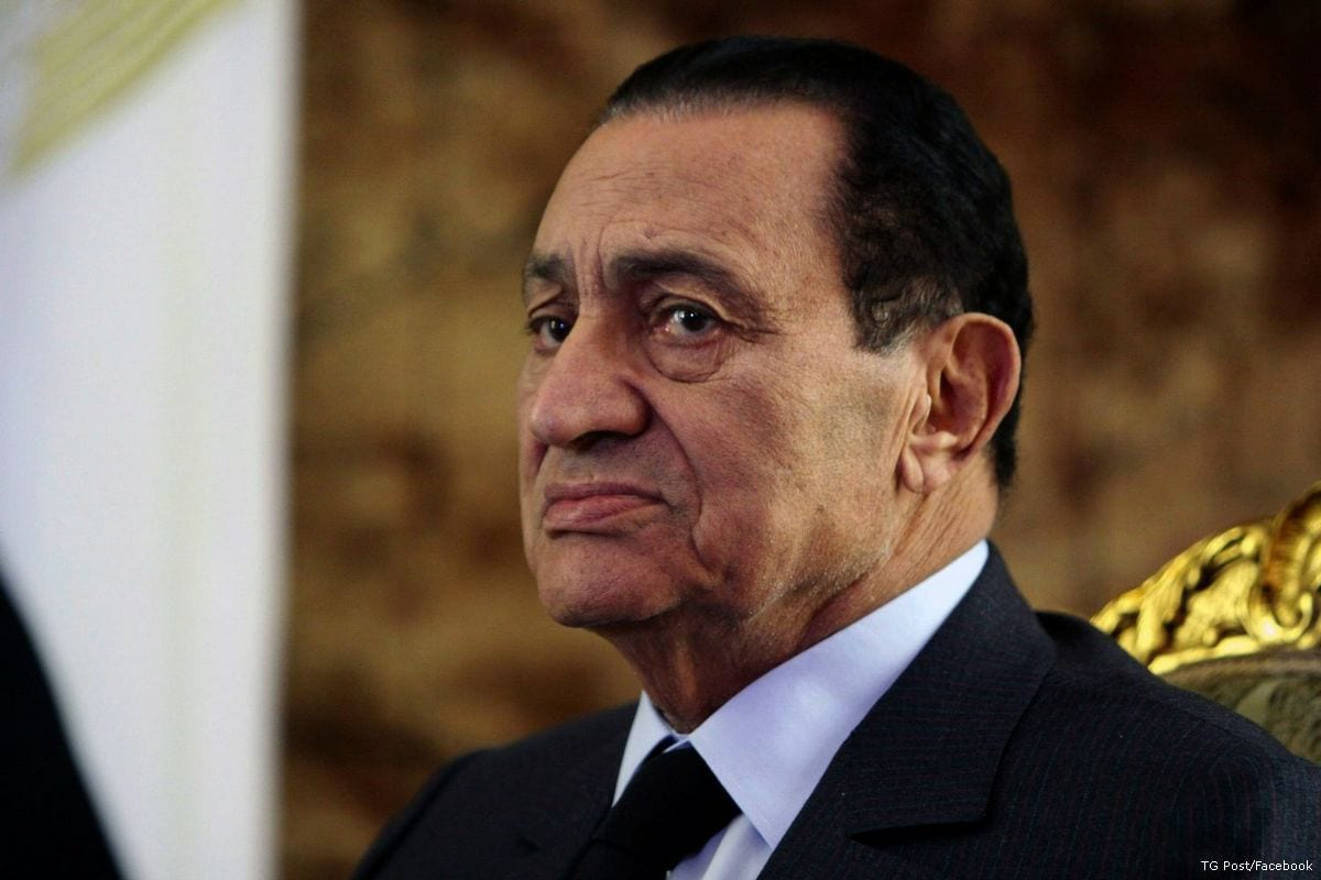 Image of ousted Egyptian President, Hosni Mubarak [TG Post/Facebook]
