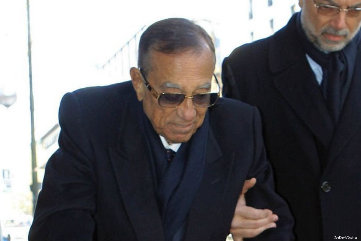 Image of Egyptian businessman Hussein Salem [SecDev/Twitter]