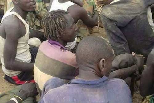 Image of captured Darfur Rebels from SLM-MM on 21 May 2017