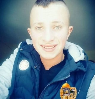 Image of Raed Ahmad Radayda, the Palestinian teenager who was shot and killed by Israeli forces [Ma'an News]