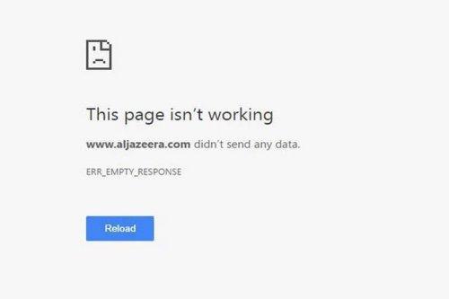 Egypt blocks Al Jazeera's website along with a number of Qatar-based sites [masrawy]