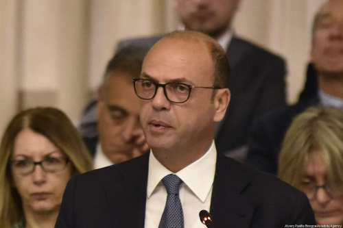 Italy's Minister of Foreign Affairs and International Cooperation, Angelino Alfano [Alvaro Padilla Bengoa]