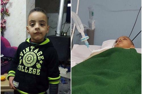 7 year old Palestinian rehospitalised a week after being injured by tear gas canister
