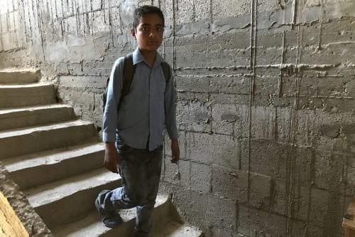 Ahmed Dalloul was just four years old when his family home was bombed with white phosphorus [MEMO]