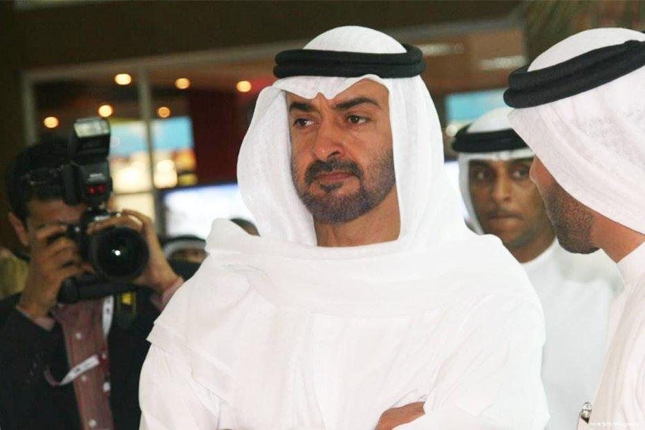 Image of the Crown Prince of UAE Mohamed bin Zayed Al-Nahyan [Roya News English/Facebook]