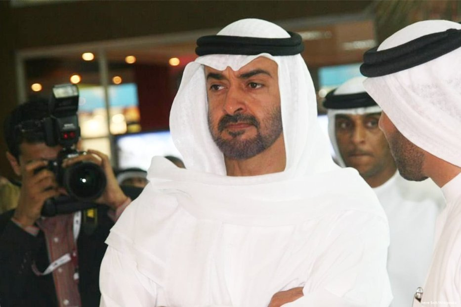Image of the Crown Prince of UAE Mohamed bin Zayed Al-Nahyan [Roya News English/Facebook]