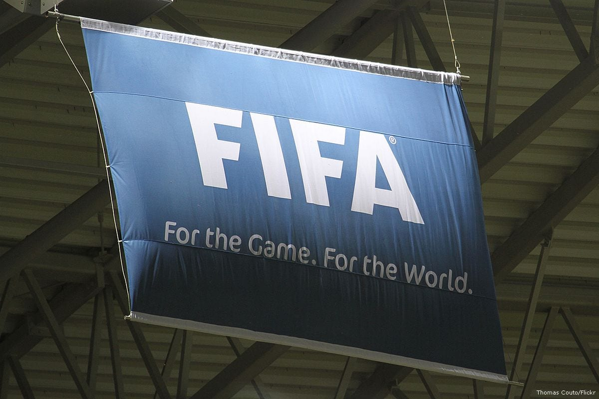 Image of FIFA flag [Thomas Couto/Flickr]