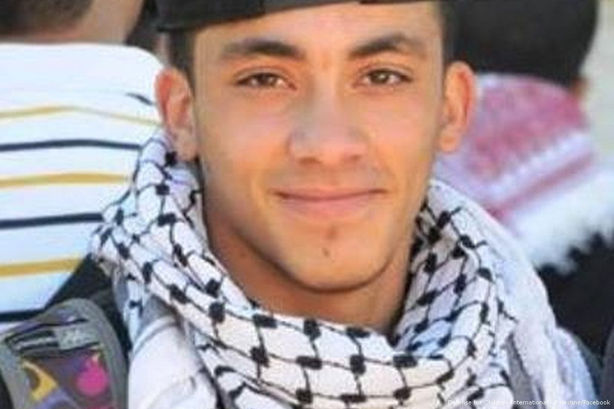 Image of 17-year-old Nadeem Nawara who was shot dead by a Israeli border policeman [Defense for Children International - Palestine/Facebook]
