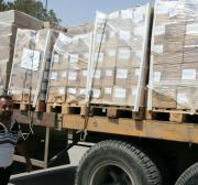 """Egyptian authorities allow the """"Miles of Smiles"""" convoy to bring aids to Gaza"""
