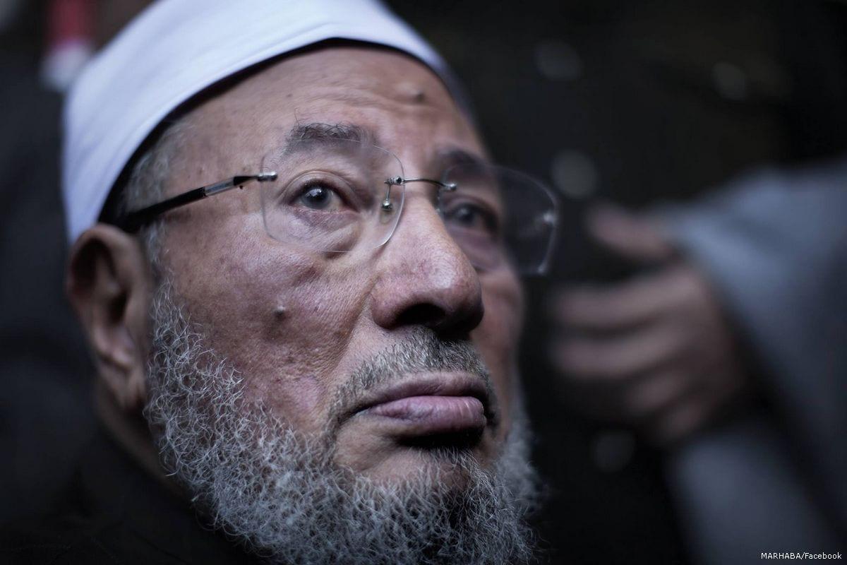 Image of Sheikh Yusuf Al-Qaradawi on 20 October 2015 [Omar Chatriwala/Flickr]