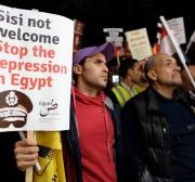 Al-Sisi mandates the people to protect him from the terrorism that he has created