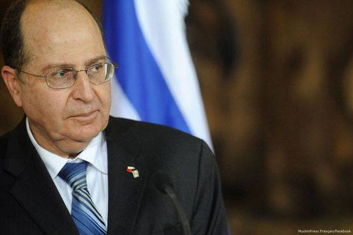 Image of Moshe Ya'alon [MuslimPress Français/Facebook]