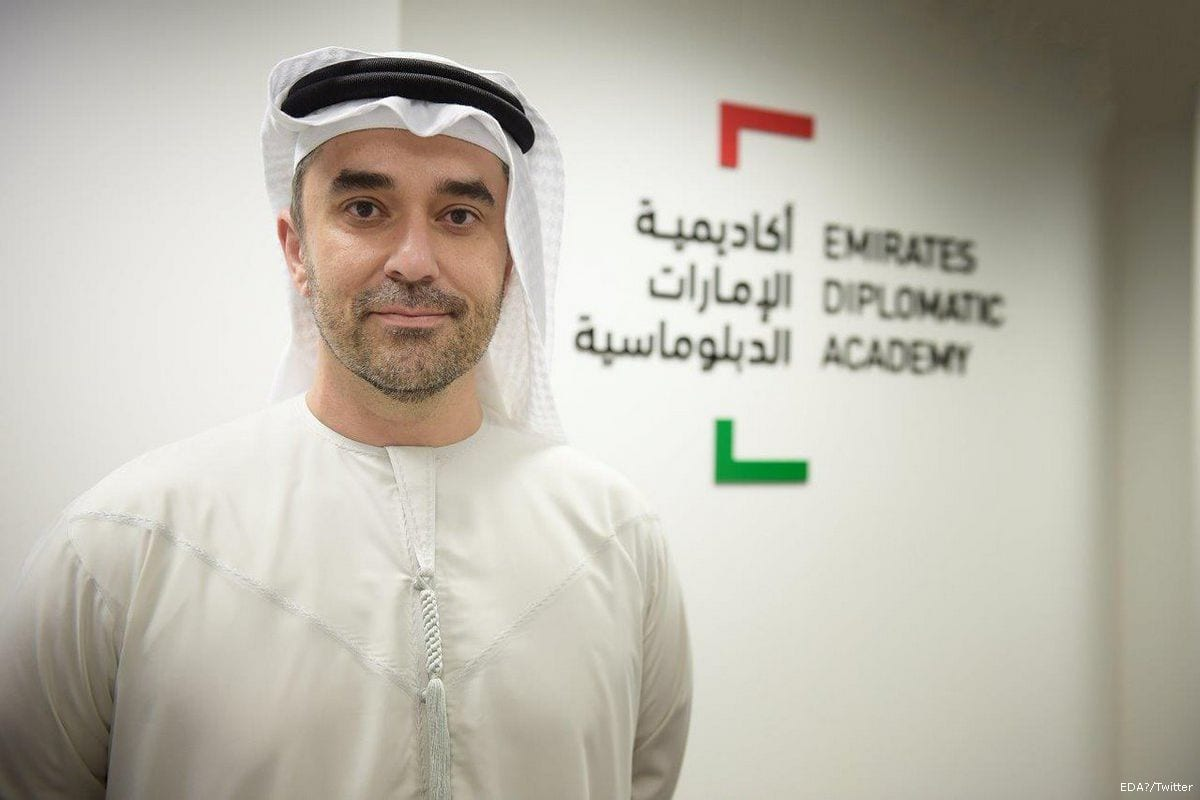Image of UAE Ambassador to Russia, Omar Ghobash [EDA/Twitter]