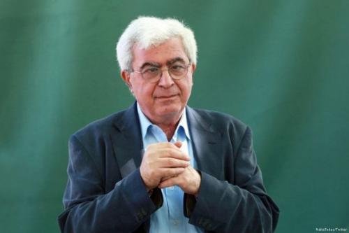 Image of Lebanese writer and novelist, Elias Khoury [MaltaToday/Twitter]