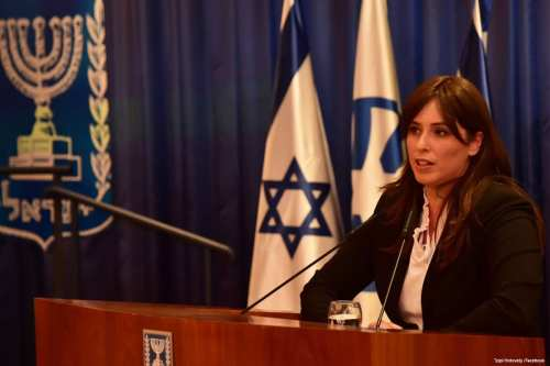 Image of Israeli Deputy Foreign Minister, Tzipi Hotovely on 1 May 2017 [Tzipi Hotovely /Facebook]