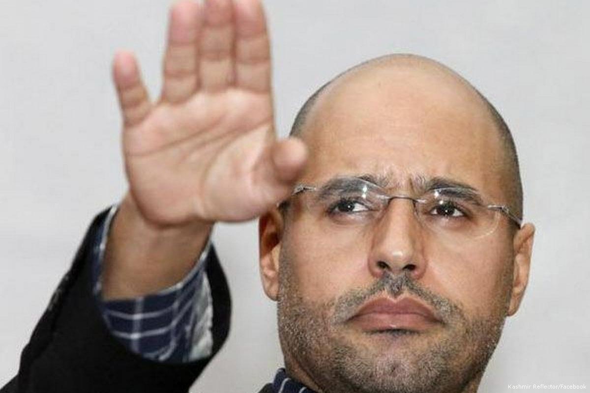Image of Saif Al-Islam Gaddafi, the son of ousted Libyan leader Muammar Gaddafi [Kashmir Reflector/Facebook]