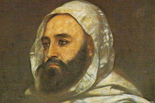 A painting of Algeria's national hero, Abdelkader El-Jazairi [Wikipedia]
