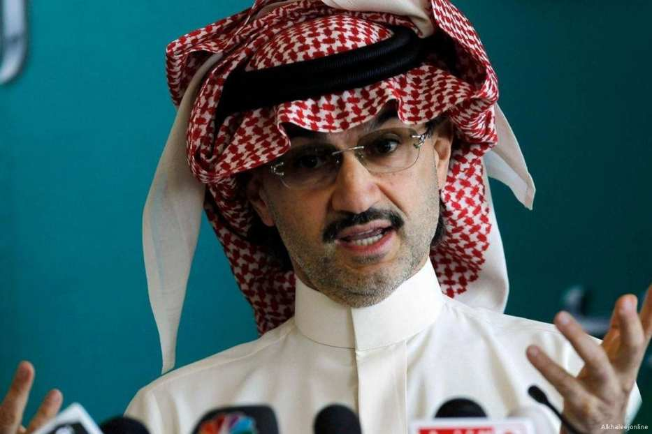 Image of billionaire Saudi Prince Al Waleed Bin Talal [Alkhaleejonline]