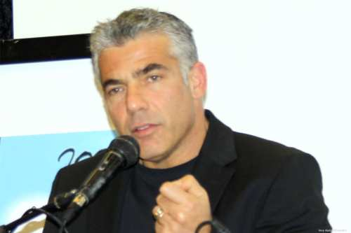 Image of Israeli MK Yair Lapid [levy dudy/Wikipedia]