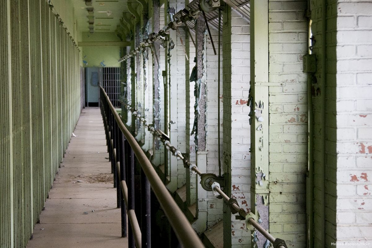 Image of a prison cells [Melissa Robison/Flickr]