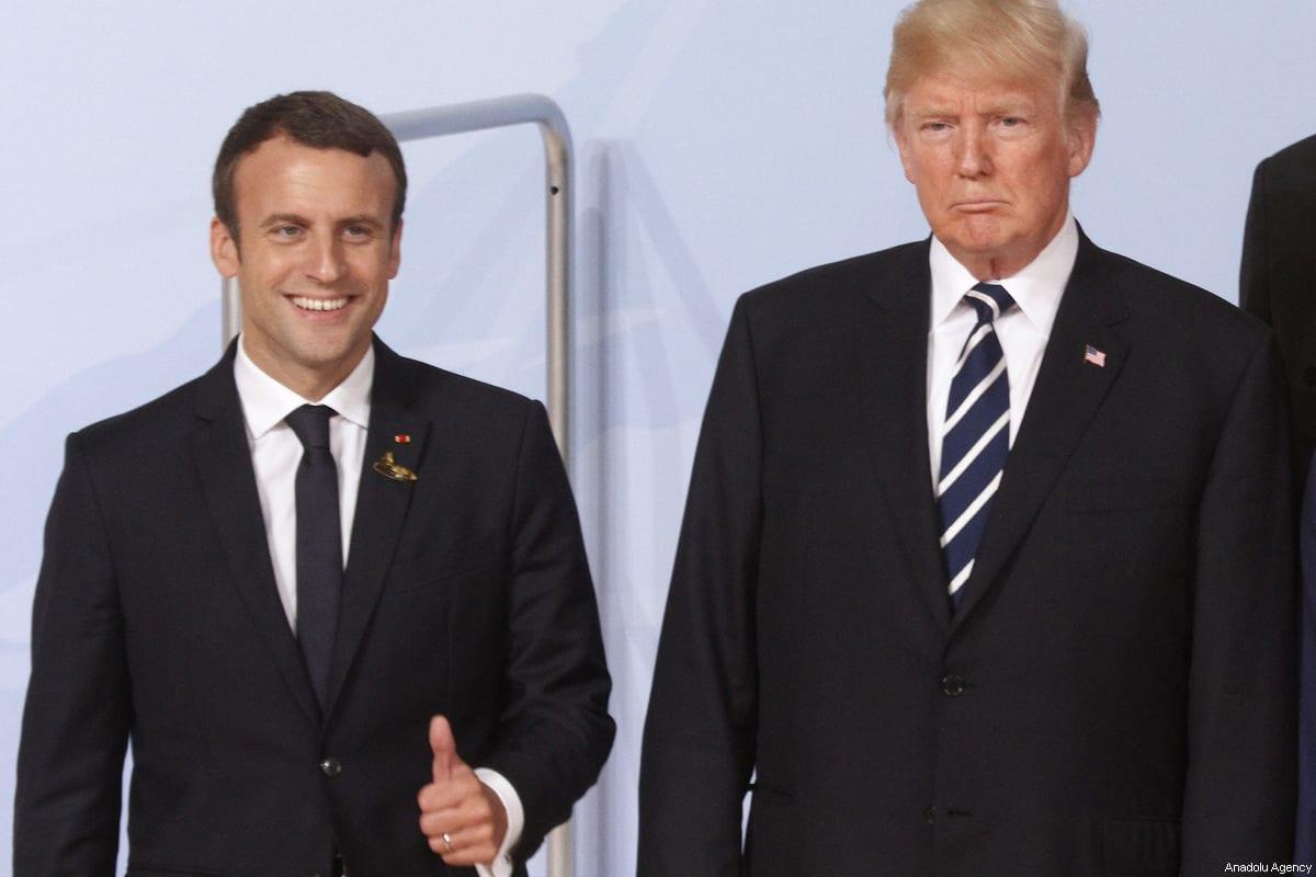 Trump and France's Macron seek new measures on Iran