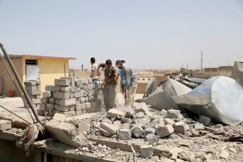 Turkey ready to help rebuild Mosul