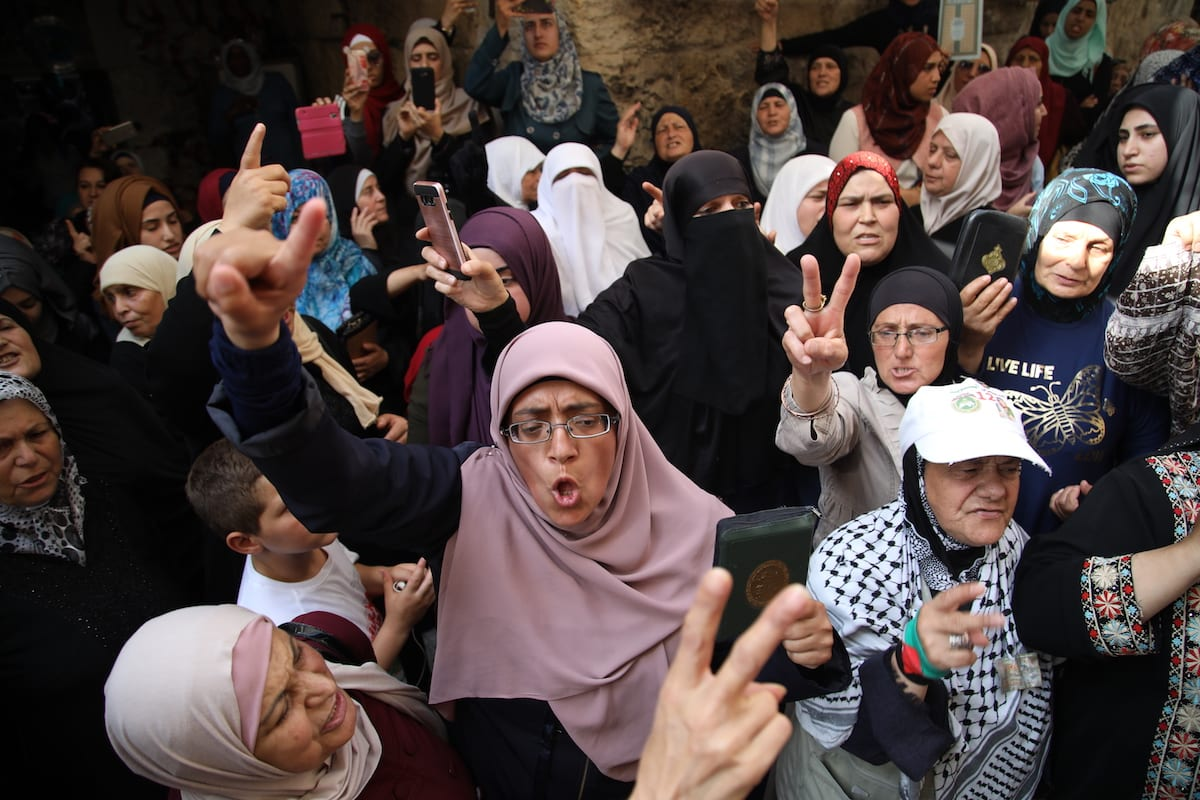 Jew Detector: Anger Against Israel's Restrictions On Access To Al-Aqsa