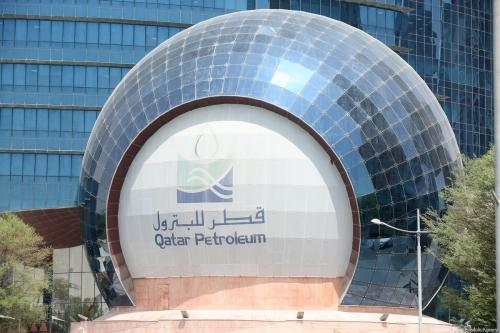 Qatar Petroleum (QP), the world's largest oil producer, announced Tuesday that it has raised its LNG capacity from 77 million to 100 million tons a year. Qatar Petroleum Chief Executive Officer Saad Sharida Al Kaabi told a news conference in Doha on 4 July, 2017 [Mohamed Farag/Anadolu Agency]