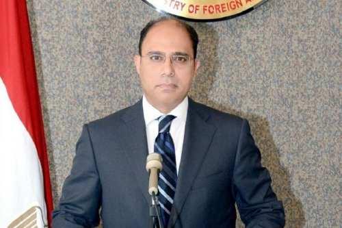 Egypt Foreign Ministry spokesman Ahmed Abu Zeid [Twitter]
