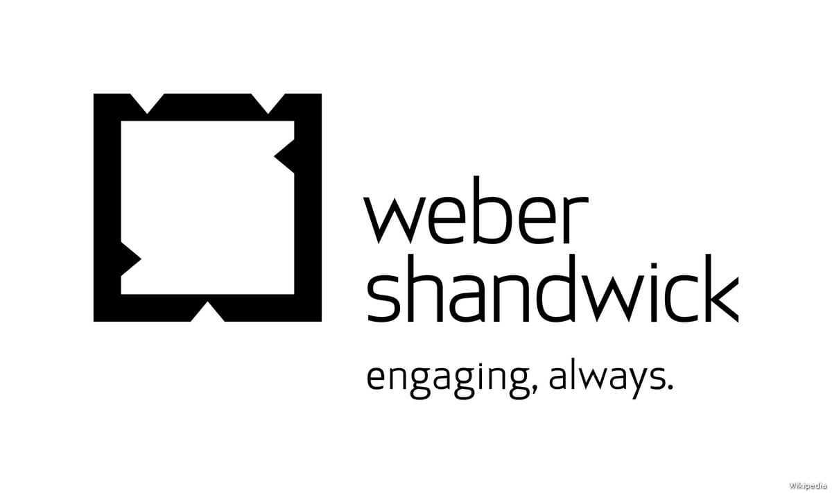PR firm Weber Shandwick logo [Wikipedia]