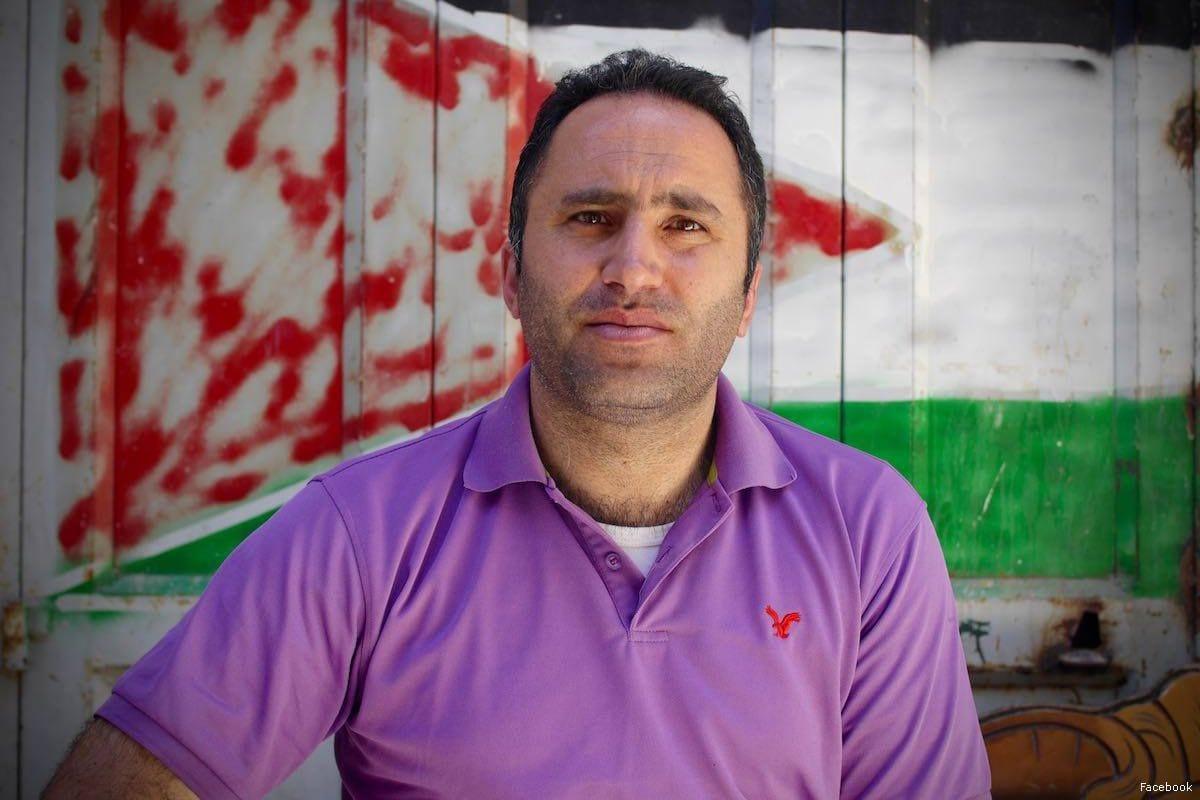 Image of Palestinian activist Issa Amro [Facebook]