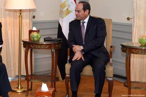 Egyptian President Abdel Fattah al-Sisi in Berlin, Germany on 12 June 2017 [Egyptian President Office/Apaimages]
