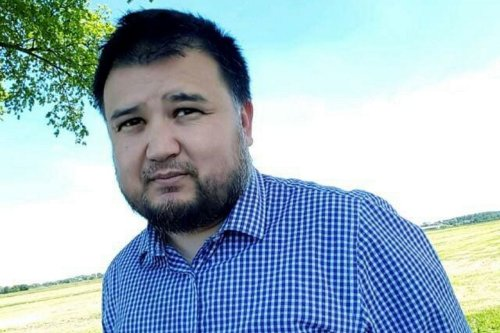 Image of Abdugheni Sabit, a Uyghur activist who left China in 2007 and settled in the Netherlands