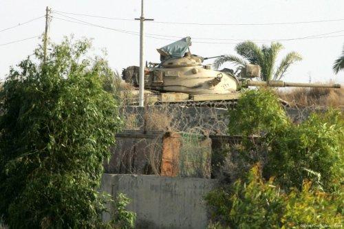 An Egyptian army tank in Sinai, Egypt [Rahim Khatib/Apaimages]