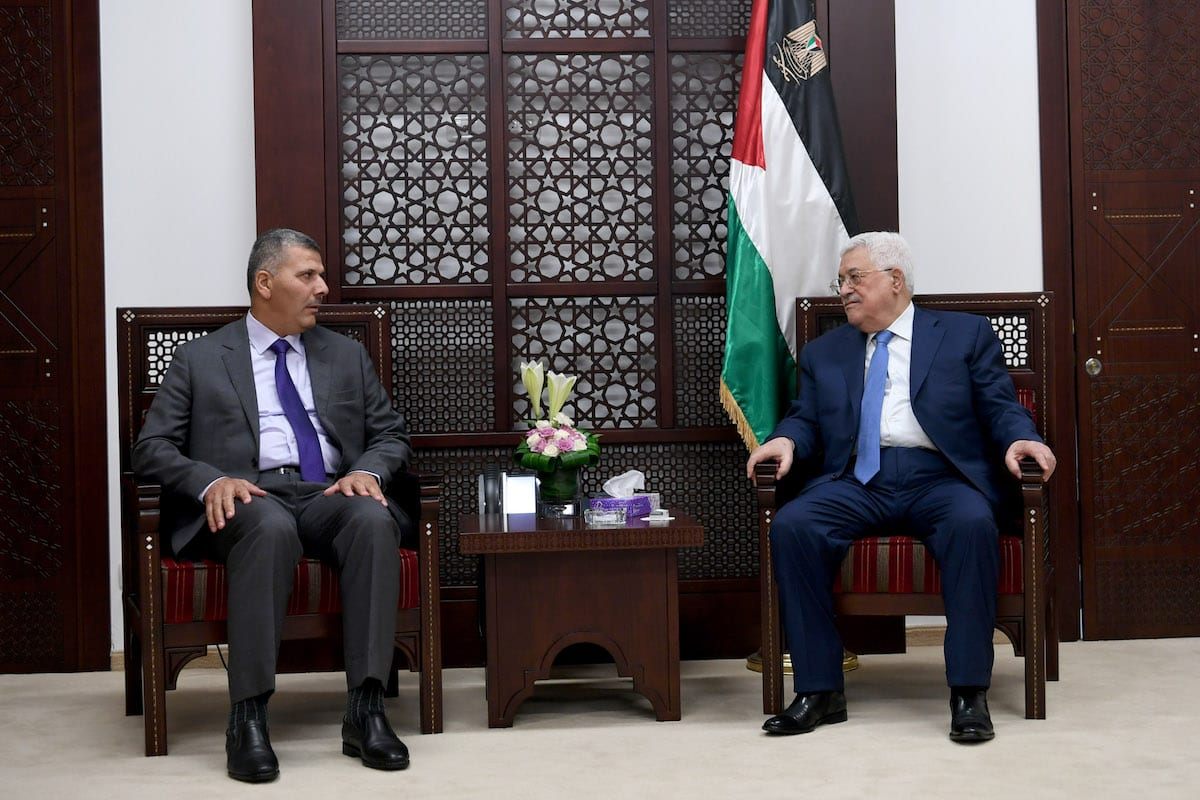 Palestinians need Trump two-state pledge before peace