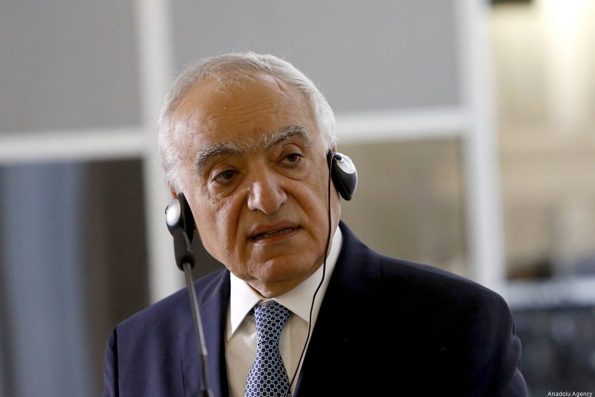 Former UN Special Envoy for Libya Ghassan Salame in Rome, Italy on 8 August 2017 [Riccardo de Luca/Anadolu Agency]