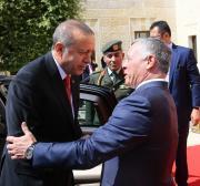 Erdogan calls for Muslim unity ahead of Jordan trip