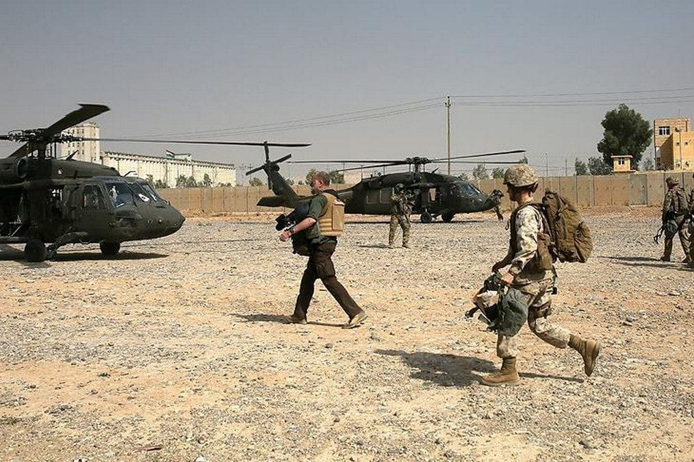 US builds military base in Iraq for Tal Afar offensive [Ibrahim Saleh/Anadolu Agency]