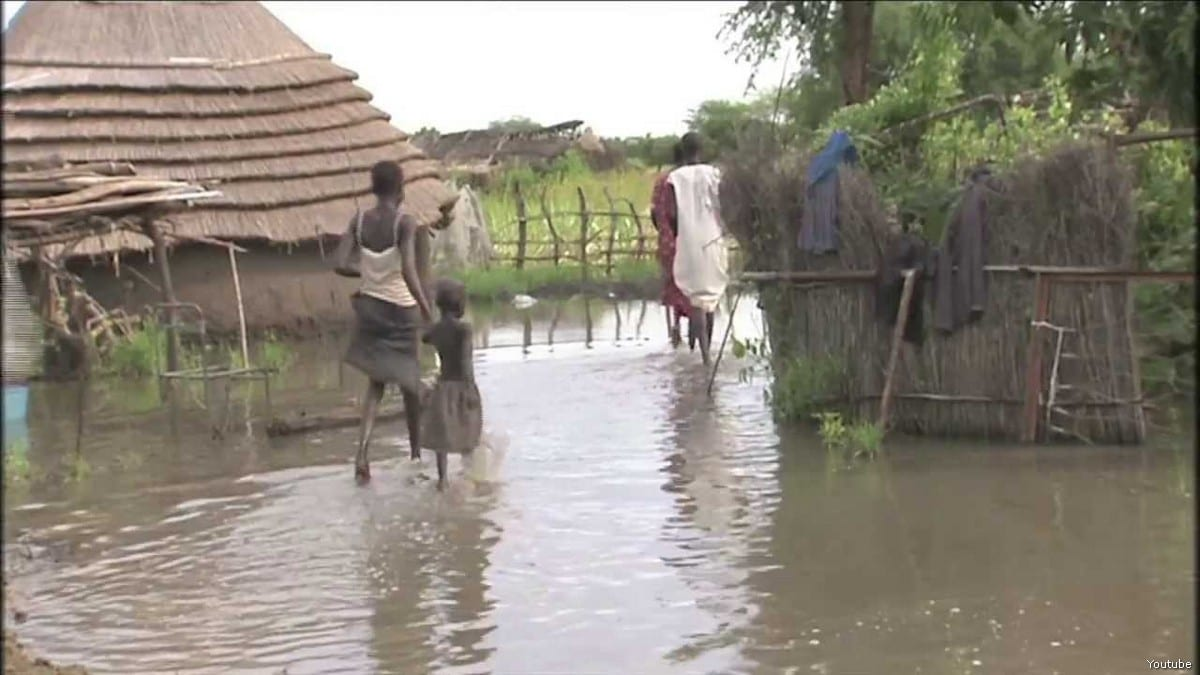 Flood in Sudan [Youtube]