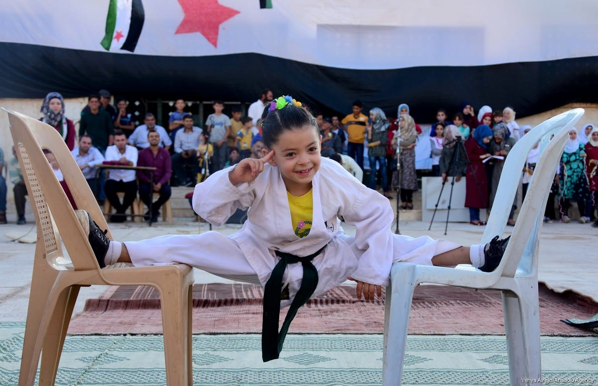 A Syrian girl's dream : becoming a champion – Middle East