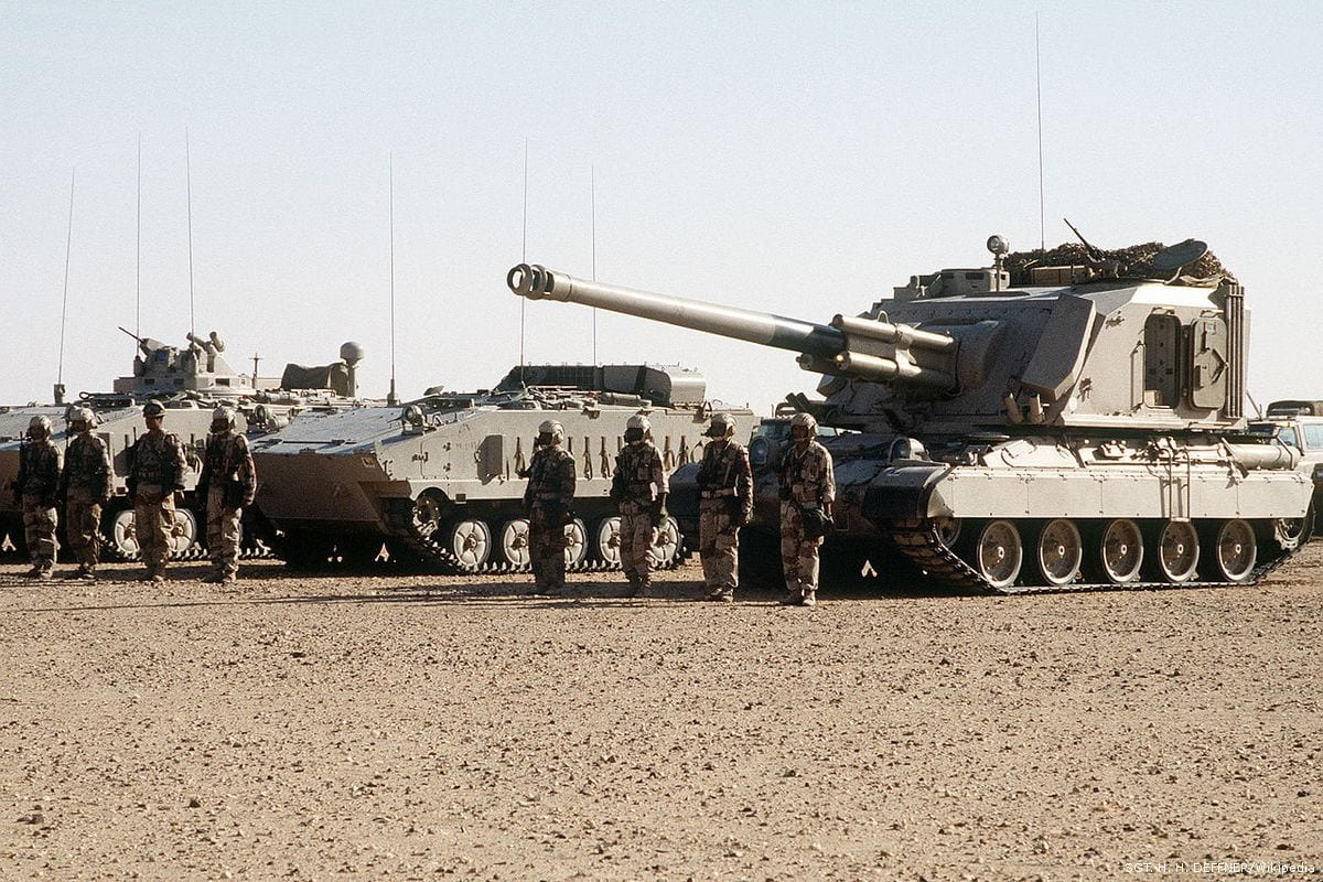 Saudi troops [SGT. H. H. DEFFNER/Wikipedia]