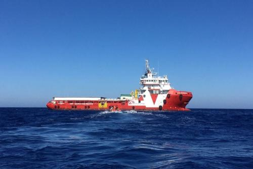 The MSF's Prudence vessel, active since March 2017, operating in the Mediterranean sea [MSF_Sea / Twitter]