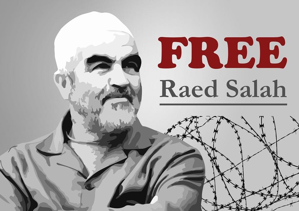 Sheikh Raed Salah, head of the Islamic Movement in Israel