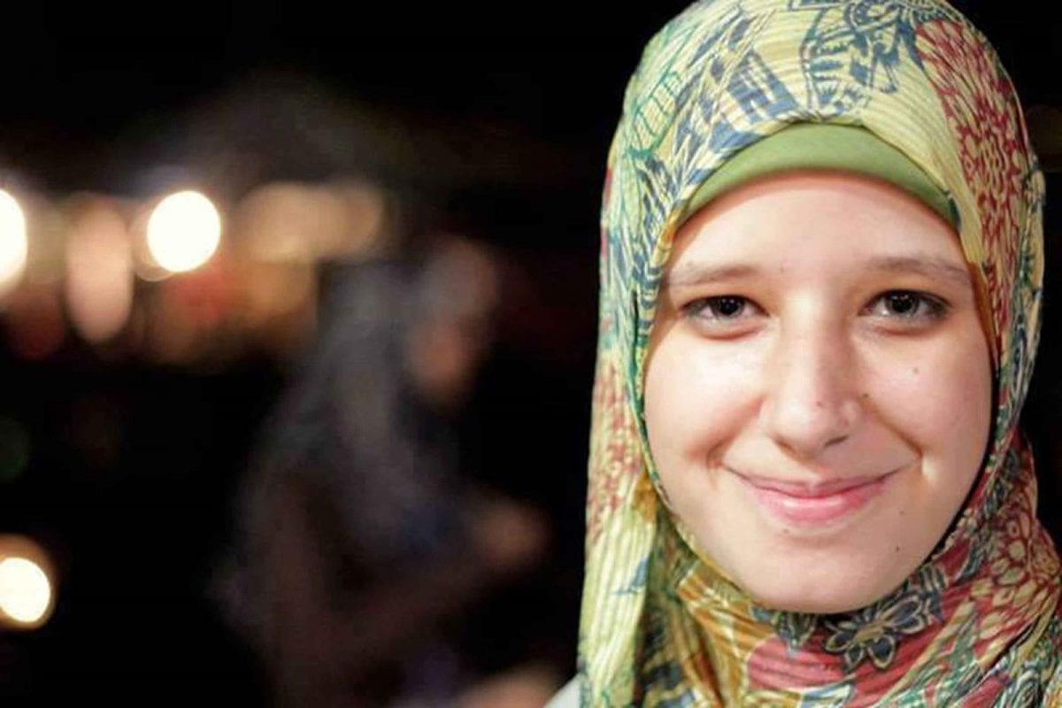 Asmaa Beltagy, the 17-year old 'Baby of Rabaa', killed on August 14, 2013 by Egyptian snipers.