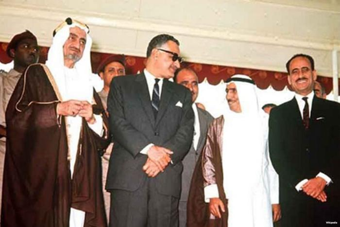 50 years since Khartoum, the Arab world united against the Palestinians