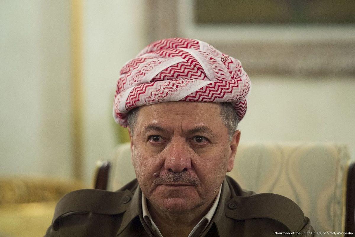 President of the regional government of Iraqi Kurdistan, Masoud Barzani [Chairman of the Joint Chiefs of Staff/Wikipedia]