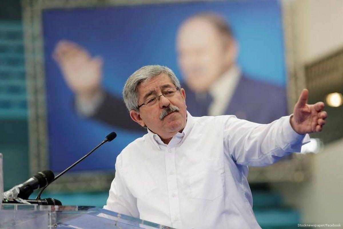 Algerian Prime Minister, Ahmed Ouyahia [Stocknewspaper/Facebook]