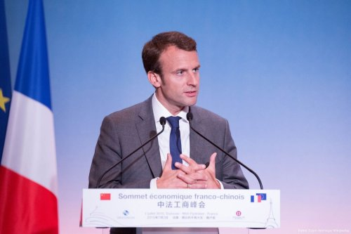 French President Emmanuel Macron in Paris, France on 2 June 2016 [Pablo Tupin-Noriega/Wikipedia]