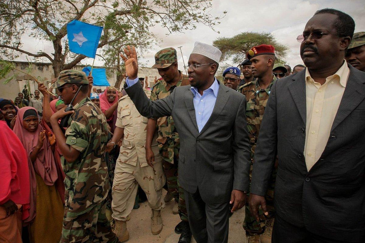 Somali President Sharif Hassan [Wikipedia]